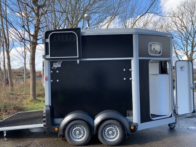Hestetrailer, ifor williams HB506, lastevne (kg): 1.680