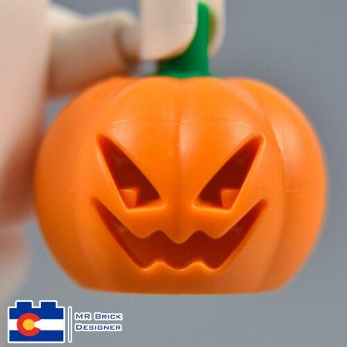 LEGO Jack O/' Lantern Head Cover Headless Horseman Pumpkin Halloween Town