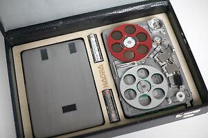 Nagra-Kudelski-Precision-Miniature-SNST-Reel-to-reel-Tape-Recorder-Swiss-Made