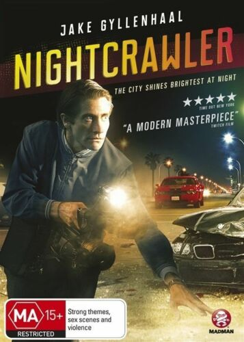 1 of 1 - Nightcrawler (Dvd) Thriller Crime Drama Jake Gyllenhaal, Rene Russo, Bill Paxton