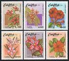 Cape Verde 416-421,MNH.Michel 425-430. Flowers 1980.Hibiscus.