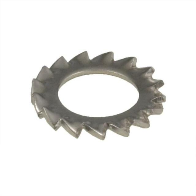 Qty 1 External Serrated Tooth Lock Washer M6 (6mm) Stainless A4 70 G316