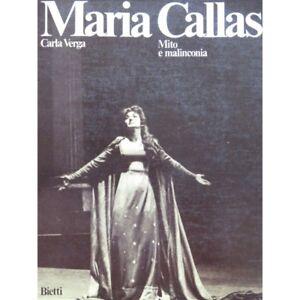 Antiquarische Noten/songbooks Aktiv Maria Callas Mito E Malinconia 1980 Partitur Sheet Music Score Eine Hohe Bewunderung Gewinnen