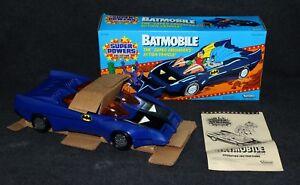 Super Powers Kenner Etui Batmobile pour voiture Mib Batman 1984 frais C9