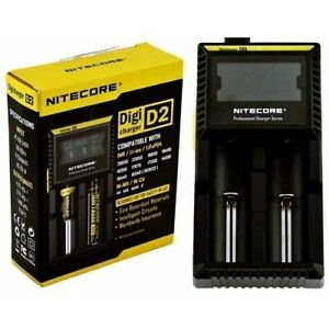 Nitecore D2 Digicharger 12/240v Battery charger