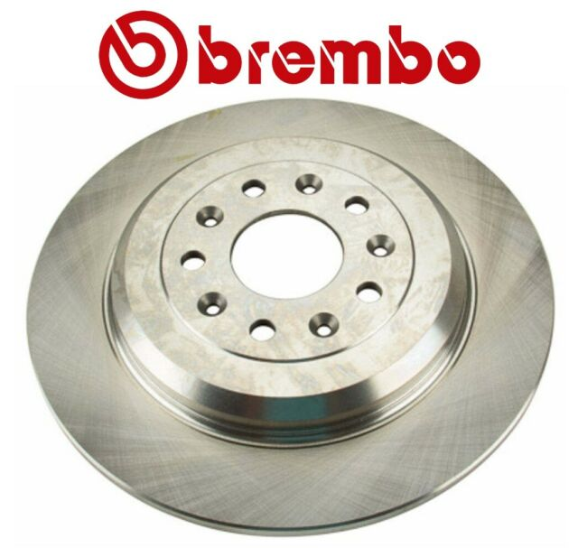 Brembo Pair Set of 2 Front 300mm Coated Brake Disc Rotors For Ford C-Max Escape