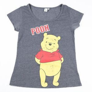 Vintage-Winnie-the-Pooh-Long-T-Shirt-Dress-Women-s-XL-Top-Disney-Retro