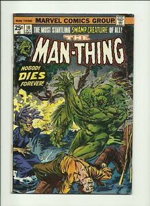 Man-Thing-1974-series-10-in-Very-Good-Condition-Marvel-Comics