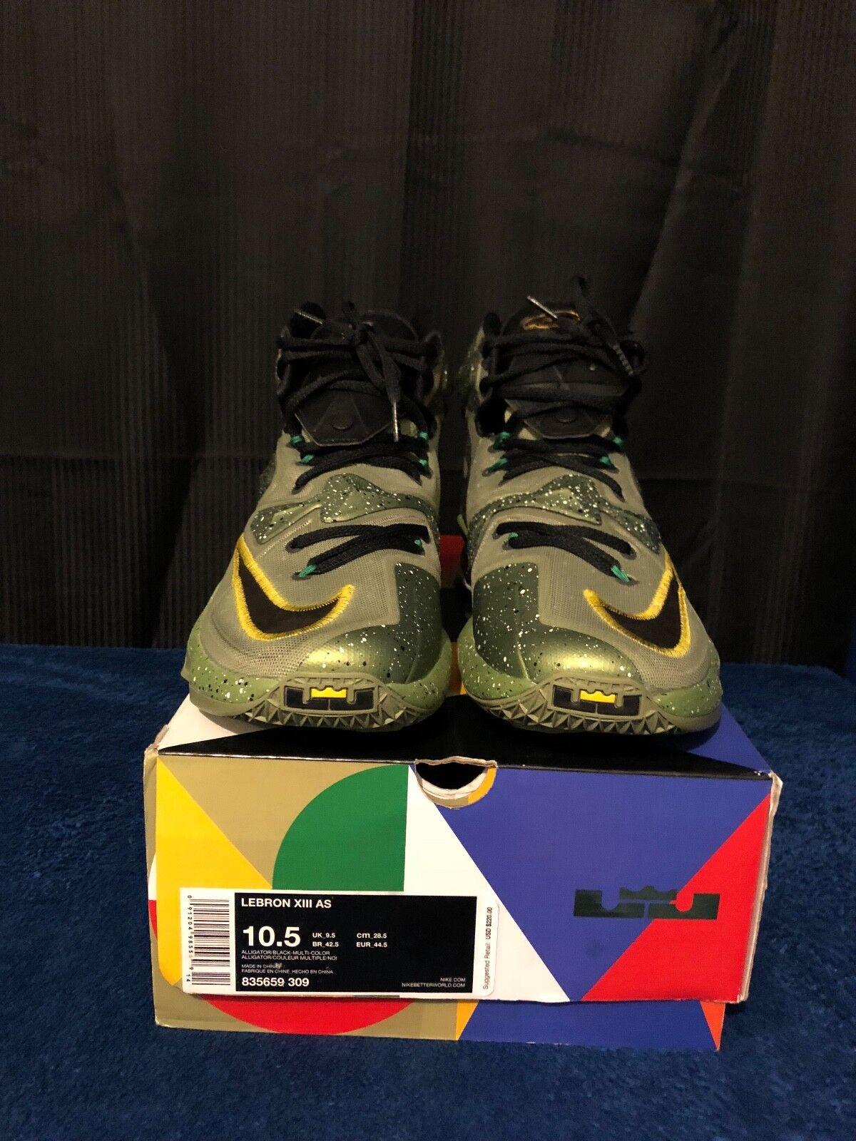 62d3c0857faf7 Nike Zoom Lebron James James James XIII AS Men Size 10.5 (835659-309 ...