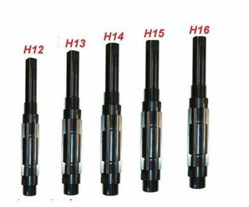 """Acugauge 5-PC Adjustable Hand Reamer Set I to M 1-1//16/"""" to 2-7//32/"""" H12 to H16"""