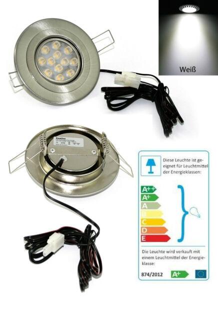 LED Cornice per incasso 12 VOLT ELI 3 WATT = da 25 WATT BIANCO FREDDO 1,5m