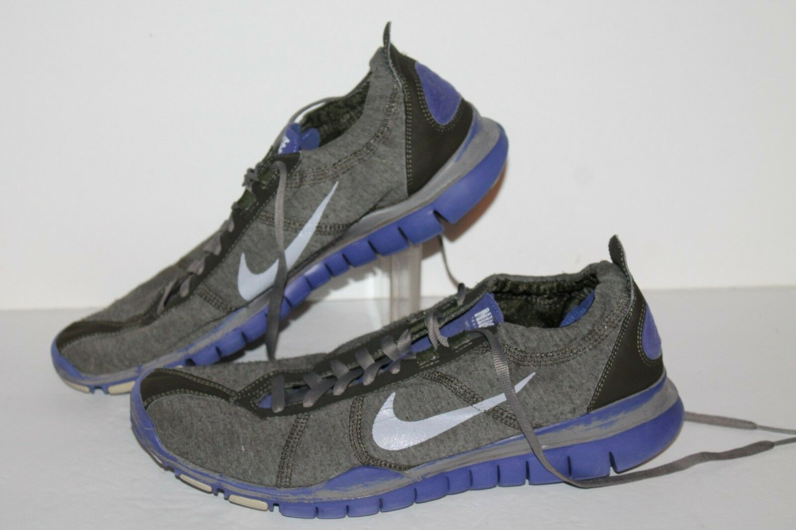 Nike Free 5 TR Running Shoes, Grey/Purple, Womens US Comfortable Seasonal price cuts, discount benefits