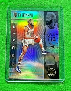 KY-BOWMAN-PRIZM-ROOKIE-CARD-GOLDEN-STATE-WARRIORS-2019-20-ILLUSIONS-BASKETBALL