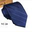 Classic-Red-Black-Blue-Mens-Tie-Paisley-Stripe-Silk-Necktie-Set-Wedding-Jacquard thumbnail 34