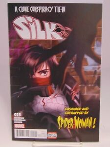 SILK-15-1ST-PRINT-MARVEL-COMICS-VF-NM-CB844