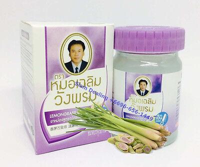 WANGPHROM Lemon grass white Balm Herb Pain Relief Massage 50g Free Ship  8858110005161   eBay