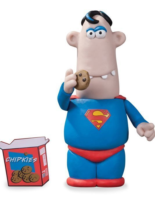 Wallace & Gromit's Aardman Superman SDCC 2013 Exclusive Action Figure DC Direct