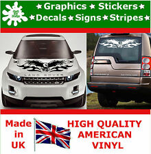 2 x Large Car Side Glory Eagle Flame Graphics 4x4 Decal Vinyl Stickers Van 100