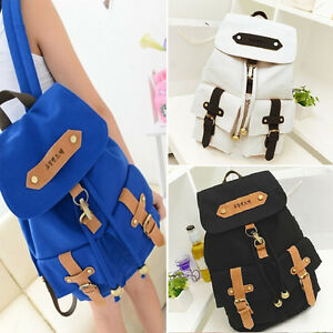 Womens-Bags-Backpack-Cute-School-Fashion-Shoulder-Bag-Rucksack-Canvas-Travel-Bag