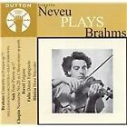 Ginette Neveu Plays Brahms (2001)