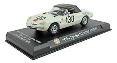 Alfa Romeo 1600 Spider Duetto 1966 1:43 SCALE DIECAST Licensed Collectionneurs modèle