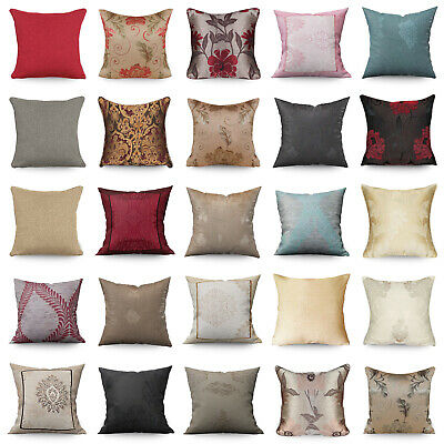 Jacquard Cushion Covers Small Large Filled Cushions Home Decor