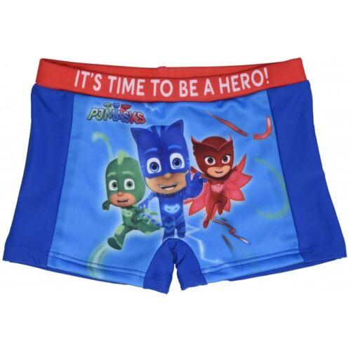 PJ Masks Swimming Trunks Boys Summer Swimwear Shorts Boxers Sizes 2-4 Years UK