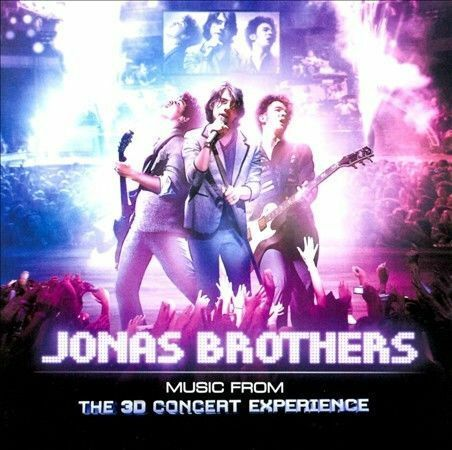 1 of 1 - Jonas Brothers - Music from the 3D Concert Experience, Soundtrack **NEW CD**