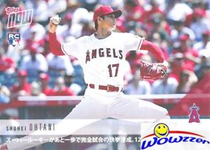 SHOHEI OHTANI 2018 Topps Now#53J ROOKIE PHENOM Flirts with Perfection KANJI MINT