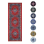 Traditional-Oriental-Medallion-Rug-2x7-Persien-Style-Runner-Actual-1-039-10-034-x7-039-3-034 thumbnail 1