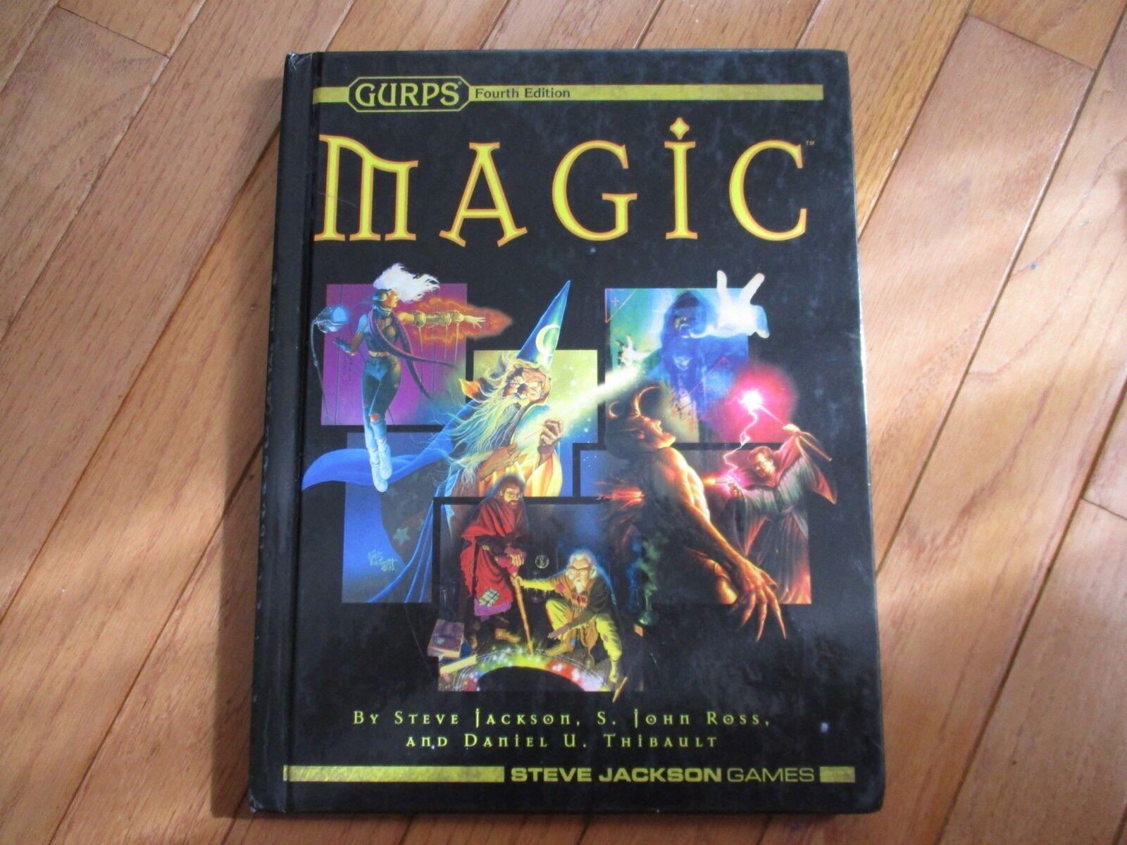 Fjärde upplagan Gurps Magiskt omslag