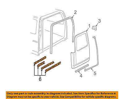 GM Genuine 20908152 Name Plate Rear