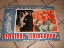 DIVISIONE LEBENSBORN,AMORE PER ORDINE DI HITLER,NAZISMO FOTOBUSTA 2