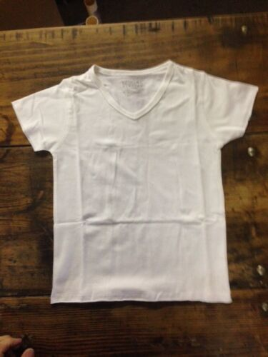 LOT of 63 New Kids VNeck short sleeve Tshirts 95% cotton 5% Spandex Size 6