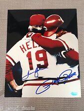 Cincinnati Reds Pete Rose 8x10 Autographed Photo With COA