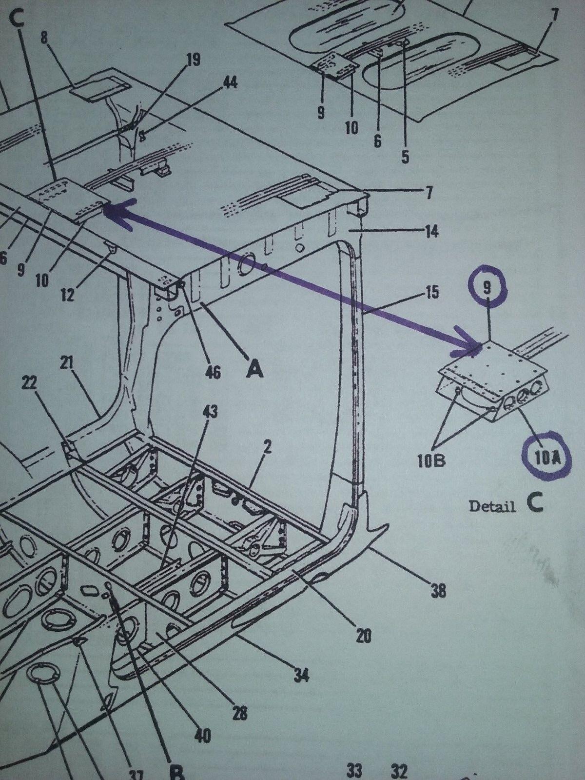 Cessna Support Assy Speaker Pn 0511328 3 Ebay 172 Engineering Schematics
