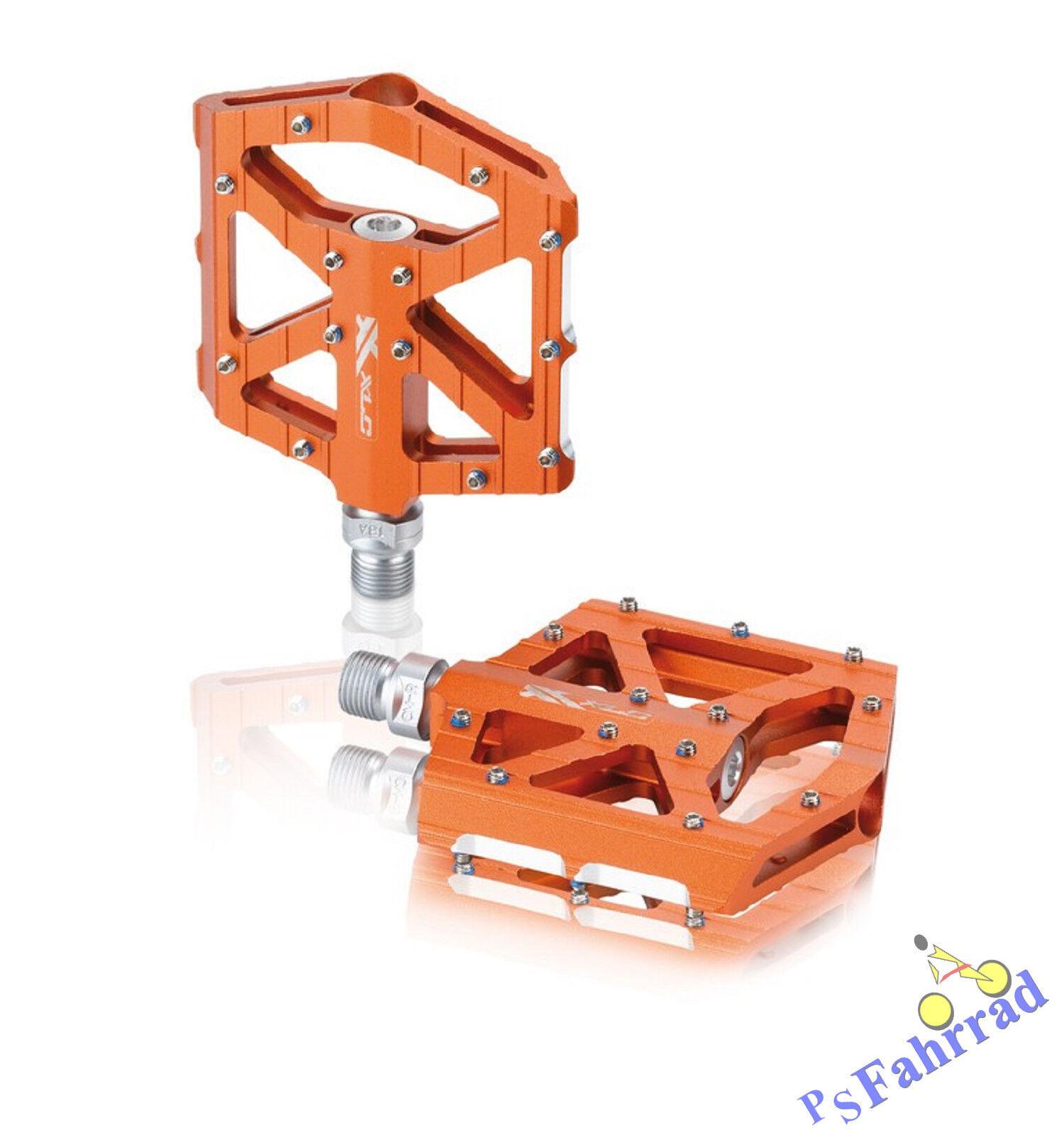XLC BMX Freeride MTB Pedale Pedal PD-M12 PD-M12 PD-M12 Orange Plattform Pedal Fahrrad cc4abc