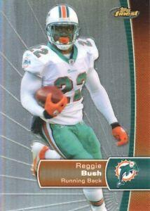 2012-Topps-Finest-Football-Refractor-62-Reggie-Bush-Miami-Dolphins