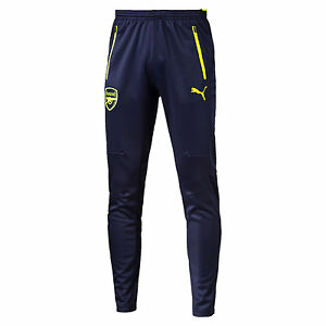 Puma Arsenal FC 2016 - 2017 Soccer Full Lenght Training Pants Brand New Peacoat