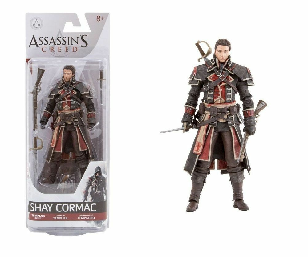 Action - figur attentäter ´ s creed rogue 15 cm shay cormac ps3 templar templar   1