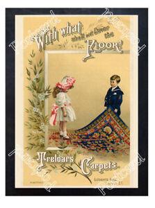 Historic-Treloar-039-s-Carpets-1910-Advertising-Postcard