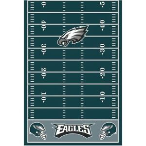 Image Is Loading Nfl Philadelphia Eagles Plastic Table Cover Birthday Party