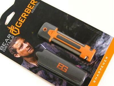GERBER Bear Grylls Fine and Serrated Knife Field Sharpener NEW! 31-001270