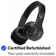 JBL UAONEARBTBLKAM-Z Under Armour Wireless Headphones Blck Certified Refurbished