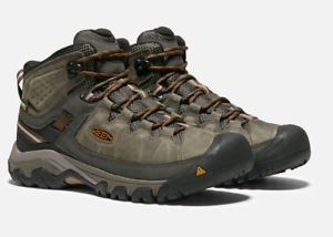 Keen Targhee III Mid Top Sz 11.5 M (D) Men's WP Hiking Boots Olive 1017787