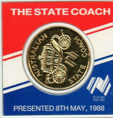 3243337E4 Australia/'s 1988 The state coach Medal