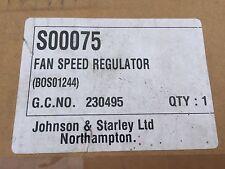 Johnson & Starley JA33-43 JT19-25 JT22-25 JWD25 38-50 Fan Speed Regulator S00075