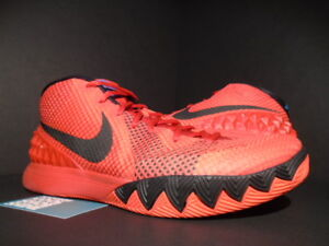 competitive price a8430 20e88 Image is loading NIKE-KYRIE-1-DECEPTIVE-RED-I-CRIMSON-BLACK-