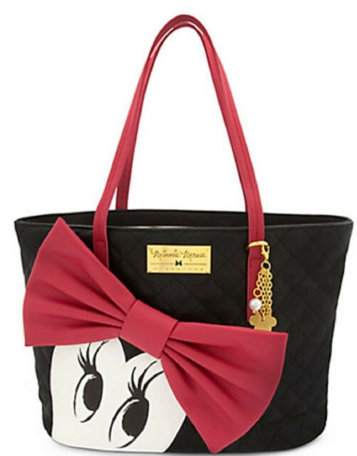 Disney Minnie Mouse Signature Handbag Tote New