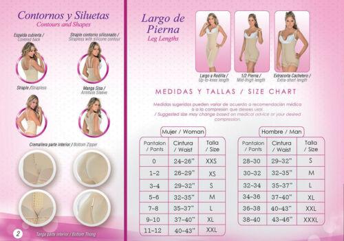 FAJAS REDUCTORAS MEDICAS POST OPERATORIA DE MUJER M/&D 0075 POST LIPOSUCCION